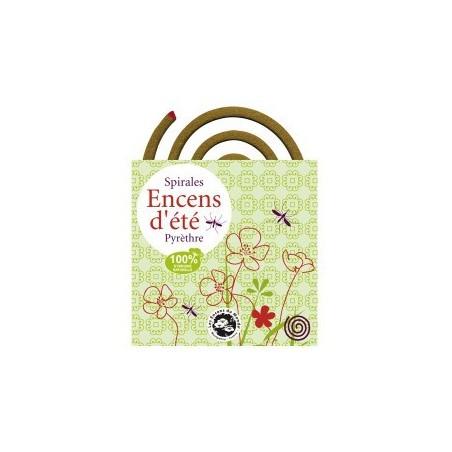 Espirales de incienso 100% natural repelente de mosquitos - Les Encens du Monde