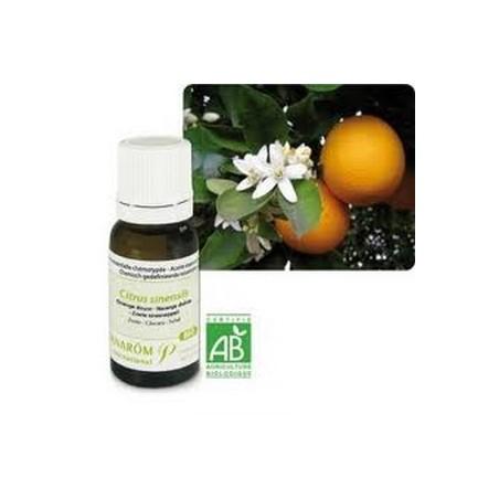 Orange douce bio Huile essentielle 10ml - Aromathérapie Pranarom