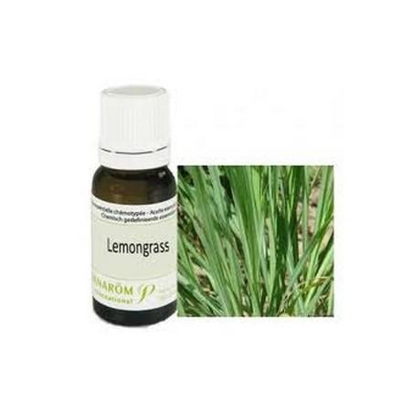 Aceite esencial de hierba limón 10ml - Aromathérapie Pranarom