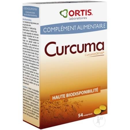Curcuma 54cps - Antioxydant Ortis