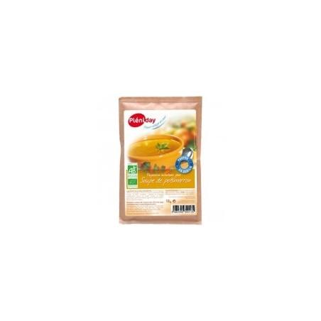 Sopa de calabaza orgánica baja en sal - Pléniday