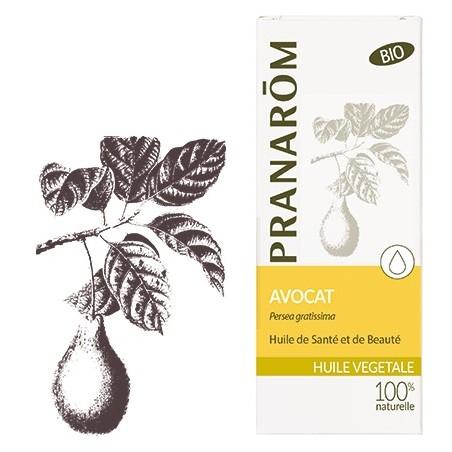 Avocat bio Huile végétale 50ml - Aromathérapie Pranarom