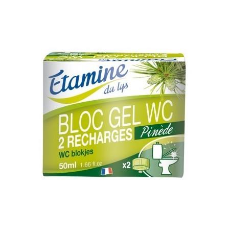 Recharges bloc gel WC bio Etamine du Lys