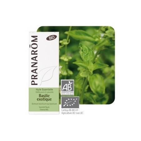 Aceite esencial orgánico de albahaca exótica 10ml - Aromathérapie Pranarom