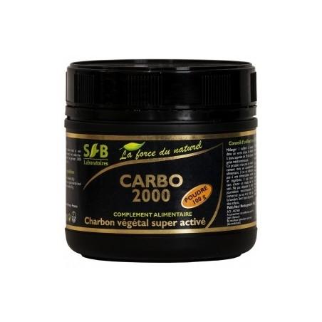 Carbo 2000 Charbon végétal super activé - Intestin SFB
